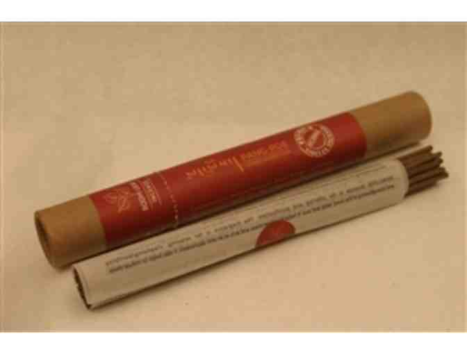 Namse Bangdzo Bookstore: Four-Bundle Set of 'Bodhi Leaf' Incense