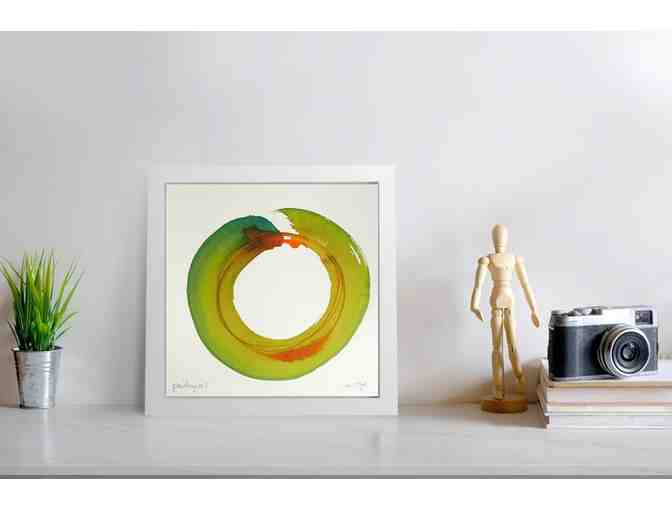 KuenstlerinBerlin: Watercolor Enso
