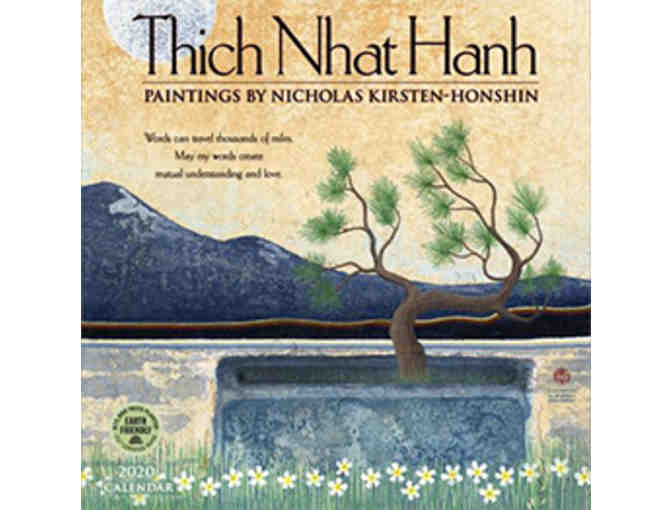 Parallax Press: Thich Nhat Hanh's 'How to Live' Boxed Set with 2020 Wall Calendar