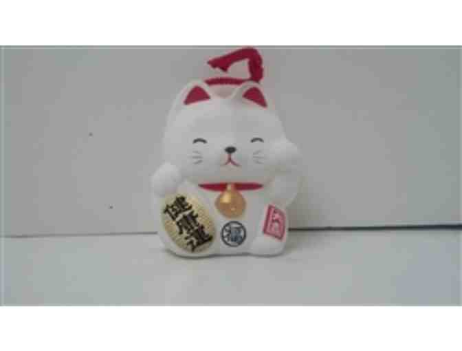 Neko-Chan Trading Company: Set of Two Maneki-Neko Fortune Cat Bells