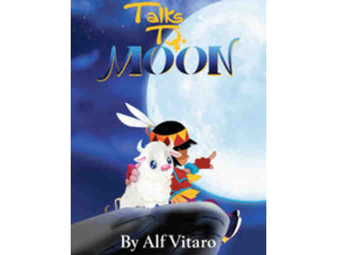 Alf Vitaro: 'Talks To Moon' Picture Book