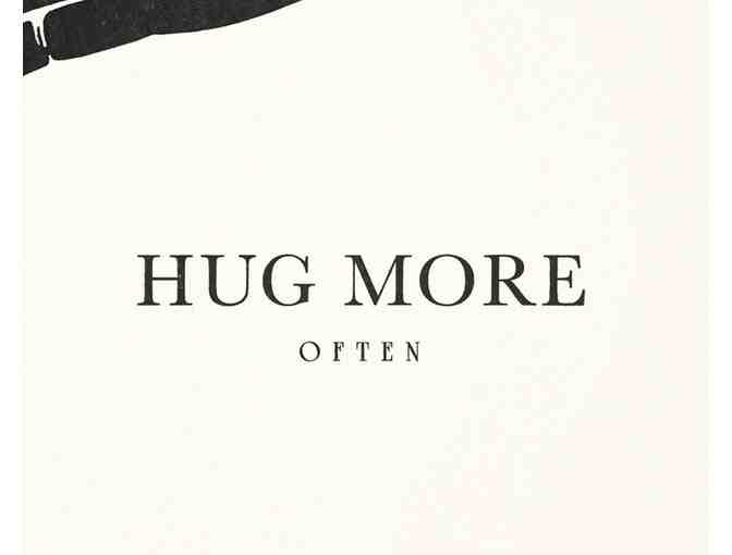 beauchamping: 'Hug More' Fine Art Print, Second Edition