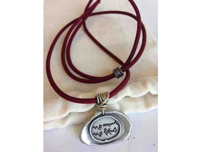 Lion's Roar Store: Thich Nhat Hanh-Inspired 'No mud no lotus' Necklace