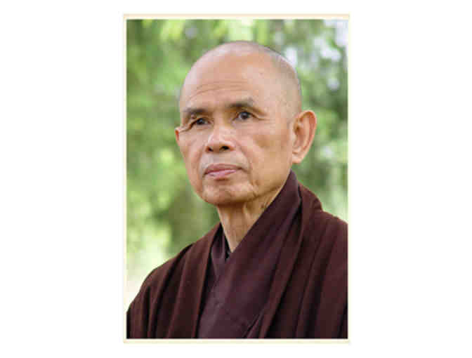 Lion's Roar Store: Thich Nhat Hanh 'Be beautiful Be yourself' Fine Art Print, Large