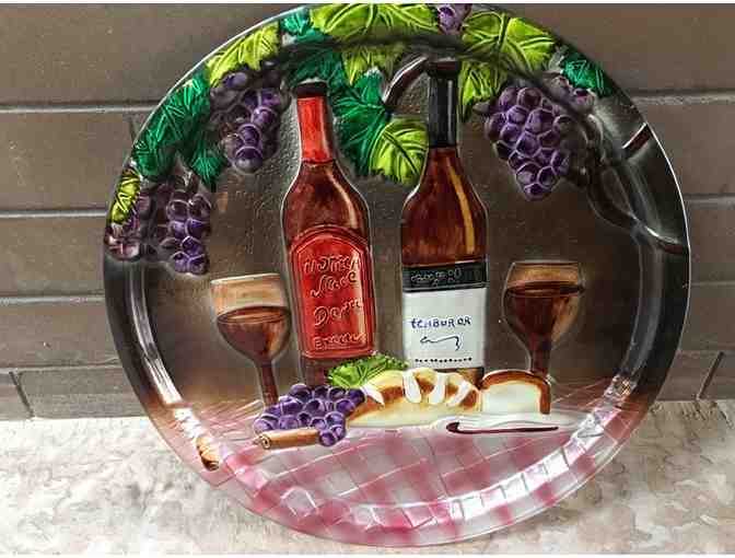 Glass Wine Tray
