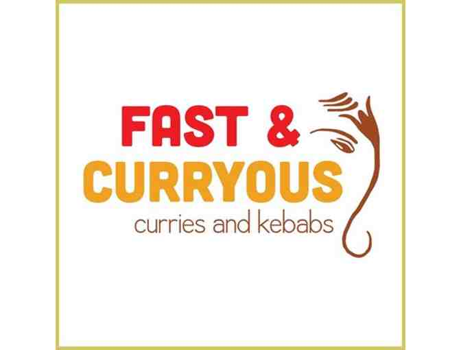 Fast and Curryous food truck for 25
