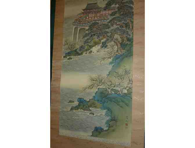 Chinese Scroll: Spring