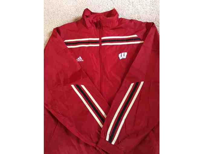 UW Adidas Windbreaker (Size Large) from Suter's Gold Medal Sports
