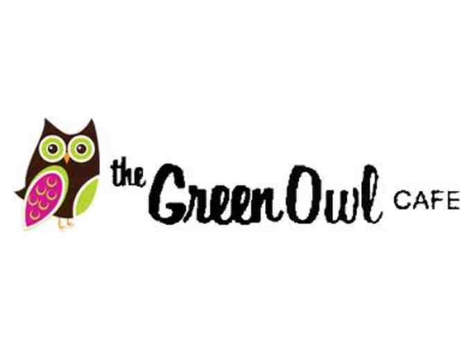 $15 Gift Card for The Green Owl Cafe