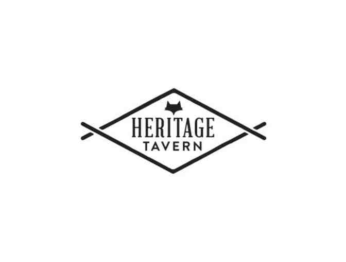 Heritage Tavern $50 Gift Card