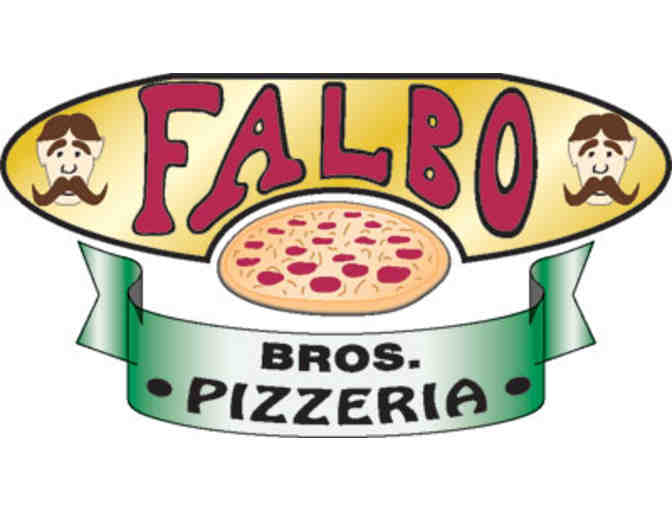 Falbo Brothers 16' 2 topping pizza - $22 value!