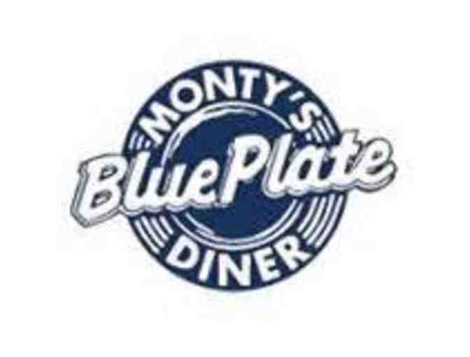 Monty's Blue Plate Diner $50 Gift Certificate