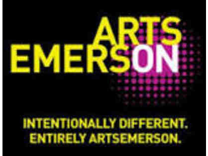 ARTS EMERSON-2 TICKETS TO PERFORMANCE
