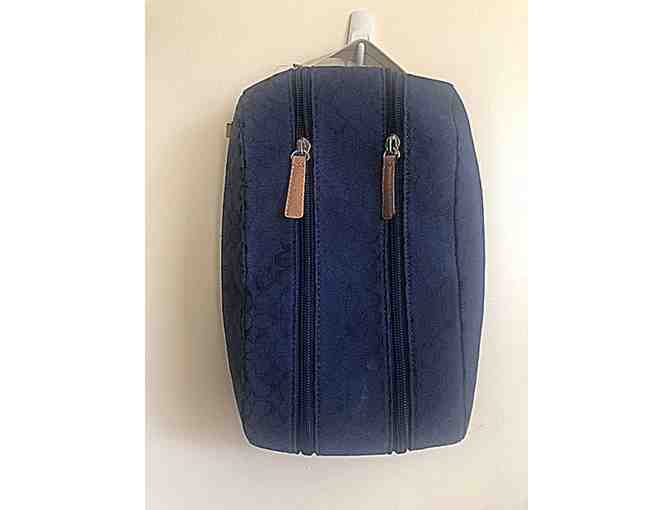 COACH-MEN'S DOP KIT IN NAVY BLUE CANVAS - Photo 1