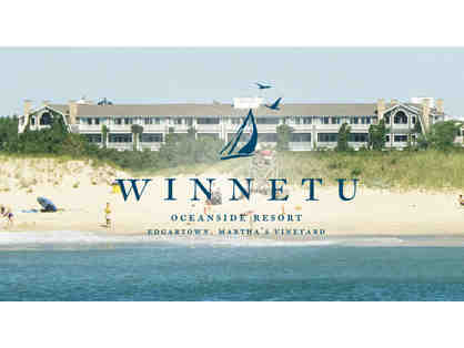 One Week Stay at the Winnetu Oceanside Resort in Martha's Vineyard