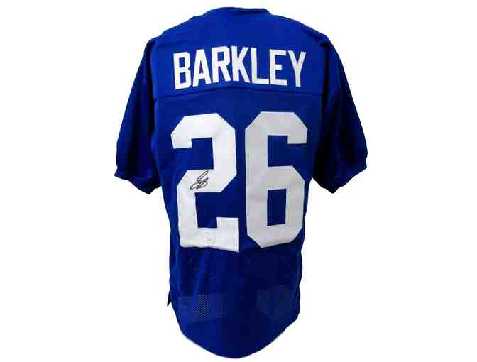 Saquon Barkley Autographed Giants Jersey