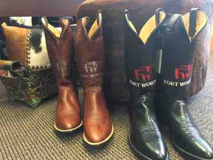 Custom Designed Fort Worth Logo Justin Boots