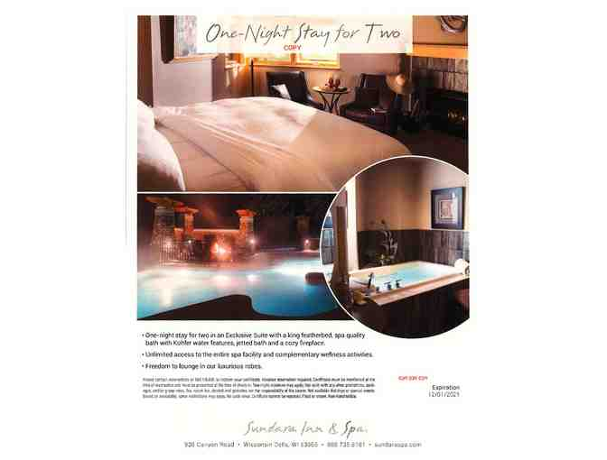 Sundara Spa - One Night Stay for Two