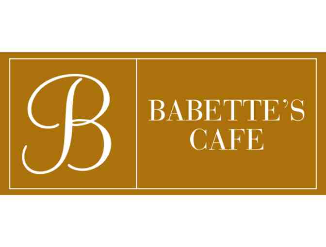 Babette's Cafe - $60 Gift Card - Photo 1