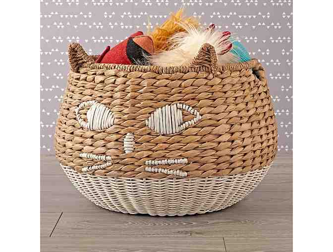 Woven Cat Basket - Photo 1