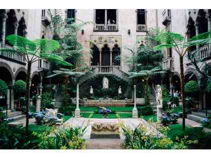 ISABELLA STEWART GARDNER MUSEUM - BOSTON - 4 ADMISSION PASSES