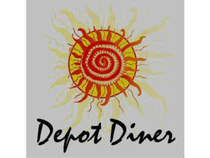 Depot Diner $25 Gift Certificate, Beverly, MA