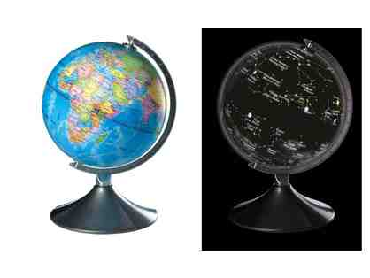 2 IN 1 CONSTELLATION GLOBE WITH USB CONNECTION