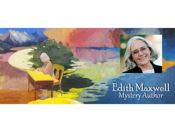 NAMING RIGHTS FOR A CHARACTER IN EDITH MAXWELL'S NEW MYSTERY + 3 OF HER BOOKS - Photo 1