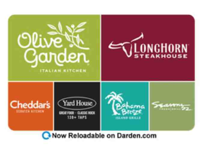 Olive Garden, Seasons 52, Longhorn Steakhouse, and more! - $50 Gift Card - Photo 1