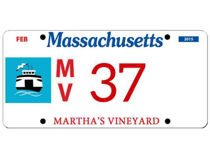 Martha's Vineyard License Plate #37