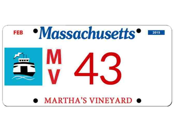 Martha's Vineyard License Plate #43