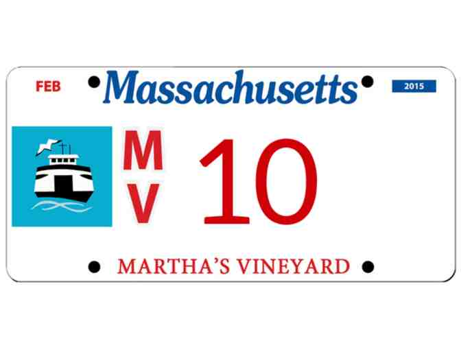 Martha's Vineyard License Plate #10