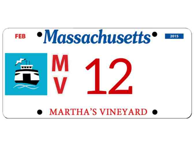 Martha's Vineyard License Plate #12