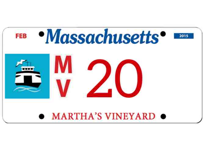 Martha's Vineyard License Plate #20