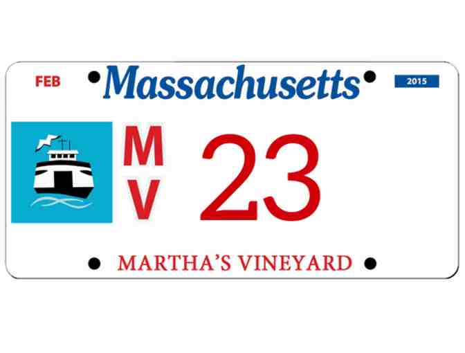 Martha's Vineyard License Plate #23