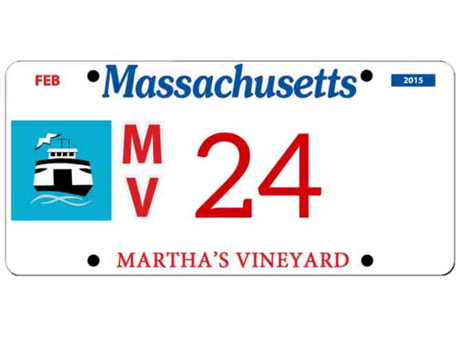 Martha's Vineyard License Plate #24