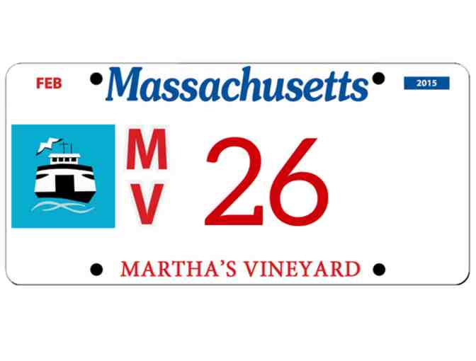 Martha's Vineyard License Plate #26