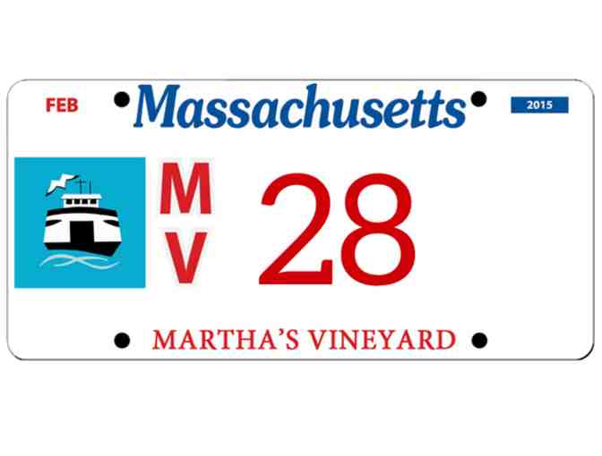 Martha's Vineyard License Plate #28