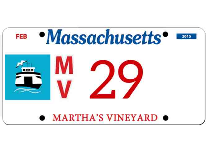 Martha's Vineyard License Plate #29
