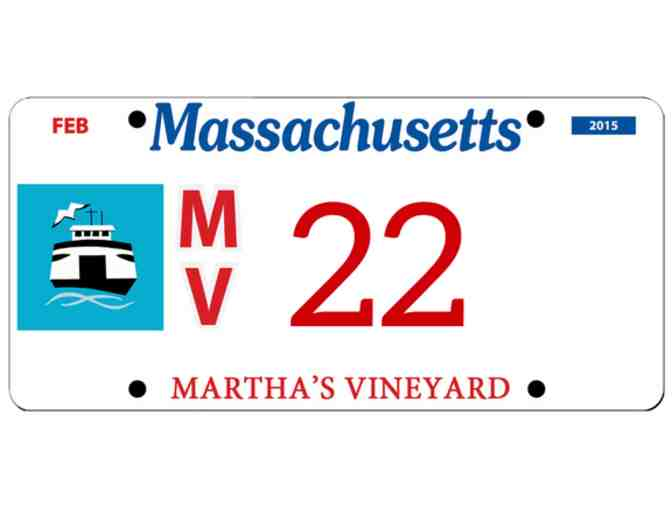 Martha's Vineyard License Plate #22
