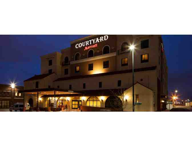 Stay at the Courtyard Wichita at Old Town