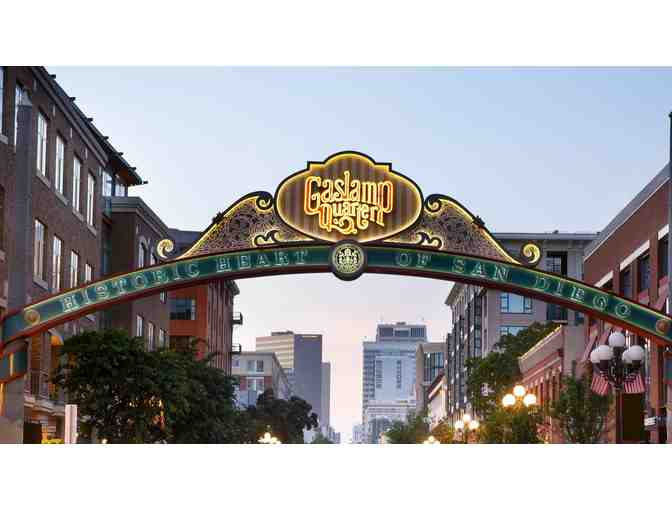 ( 2 ) NIghts - Gaslamp, San Diego Stay + Eat Package - Photo 1