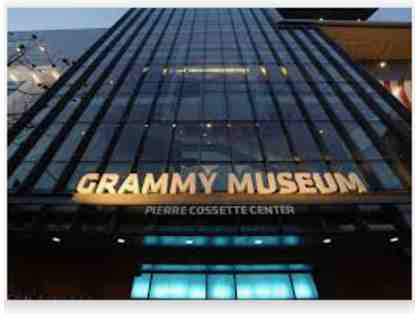 GRAMMY Museum Entry Pass for 4
