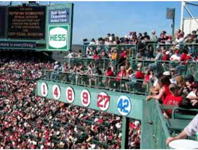 4 Premium Red Sox Tickets + Table Service for the Sam Adams Right Field Roof Deck