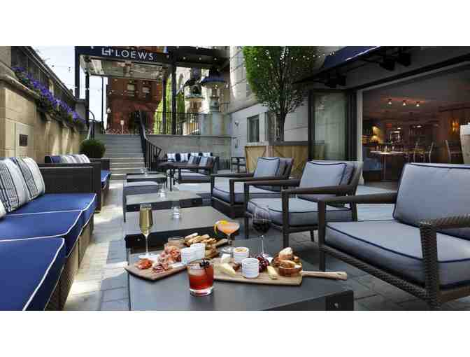 1 Night Stay at Loews Hotel with Dinner for 2