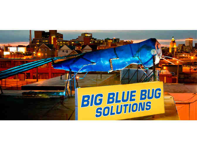 Big Blue Bug to the Rescue!