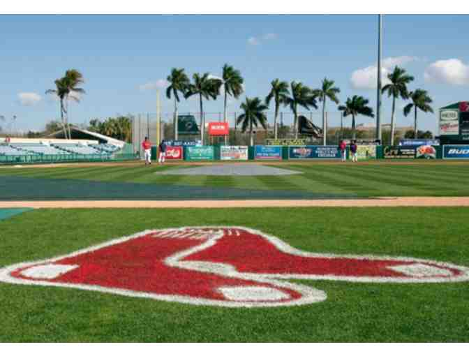 Boston Red Sox Training Camp Tickets to two Games - February 28 and March 17