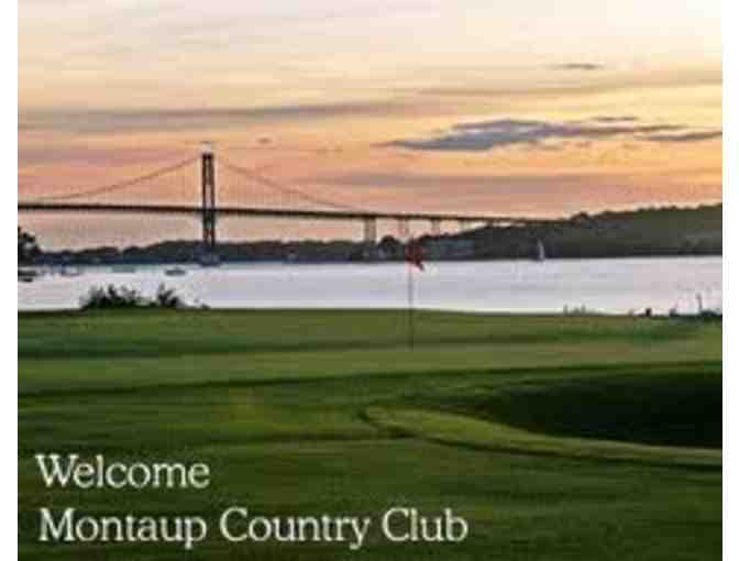 Foursome at Montaup Country Club in Portsmouth