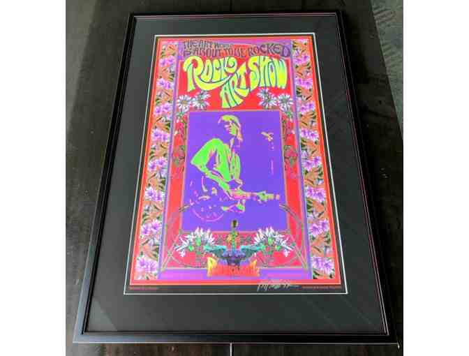 Rock Art Poster Signed by Bob Masse