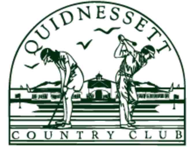 Golf Foursome at Quidnessett Country Club with Carts
